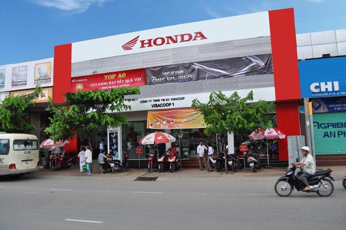 Top 5 đại lý cấp 1 của Honda bán rẻ nhất tại TPHCM