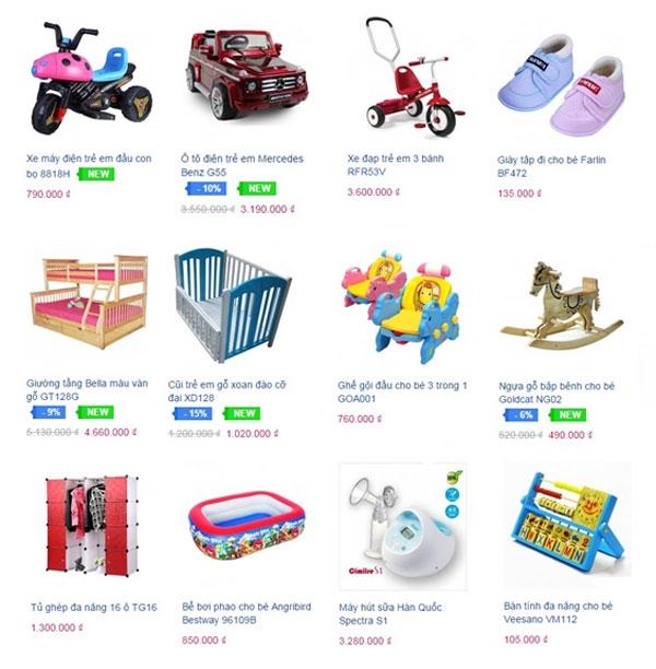 cửa hàng bán đồ chơi trẻ em ở TPHCM