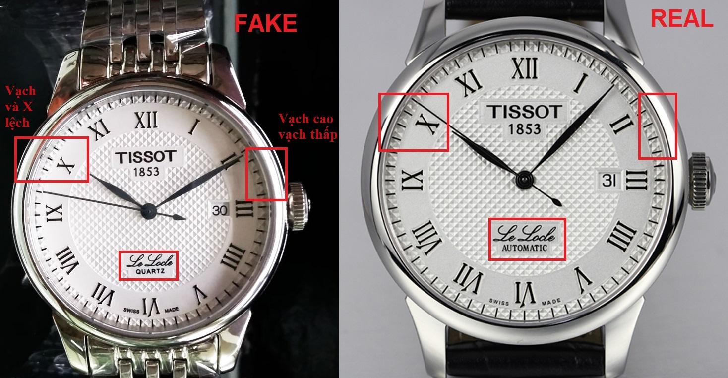 Phân biệt đồng hồ chính hãng thật giả