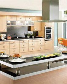 Thiết kế phòng khách liền bếp – giải pháp tiện nghi cho nhà có diện tích nhỏ
