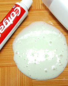 Hướng dẫn cách làm slime bằng kem đánh răngHướng dẫn cách làm slime bằng kem đánh răng